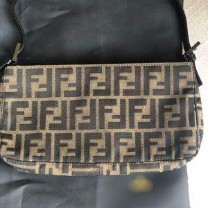 Fendi Logo small shoulder handbag